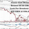 Gold Makes Reverse H&S Breakout, Junior Gold Miners (GDXJ) Bouncing Off Support at 20 DMA