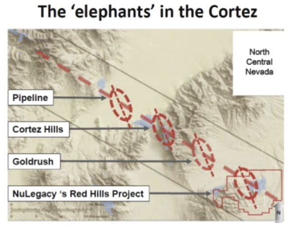 Nevada S Cortez Trend Where Gold Mining Is Still Highly Profitable